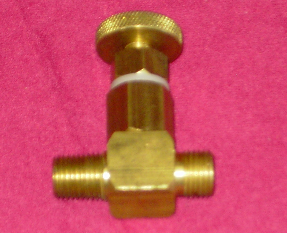Needle Valve For Gas Forge