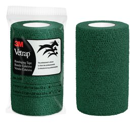 3M™ Vetrap™ Green Bandaging Tape 4 in x 5 yd