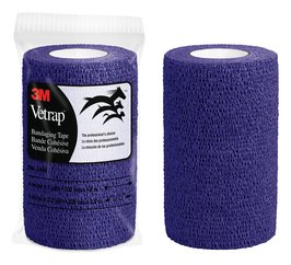 3M™ Vetrap™ Purple Bandaging Tape 4 in x 5 yd