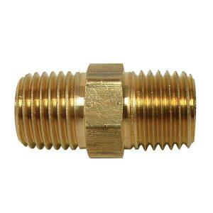 "Brass Nipple 1/4"" MNPT X 1/4"" MNPT"