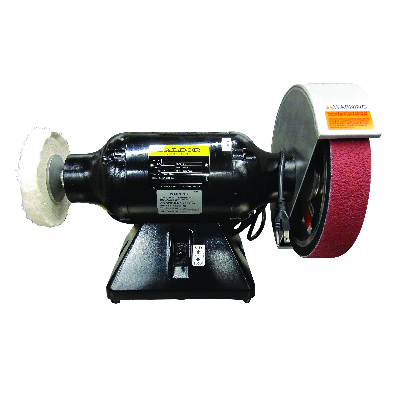 Baldor 1/2 hp VS Bench Grinder-1800-3600 rpm