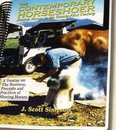 The Contemporary Horseshoer Book(Simpson)