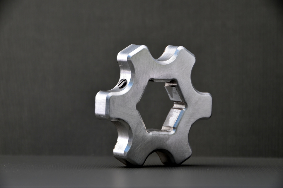Distal Steel Propane Reg Wheel