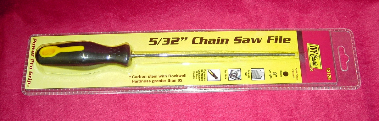 "Ivy Cls 5/32"" Chain Saw File"
