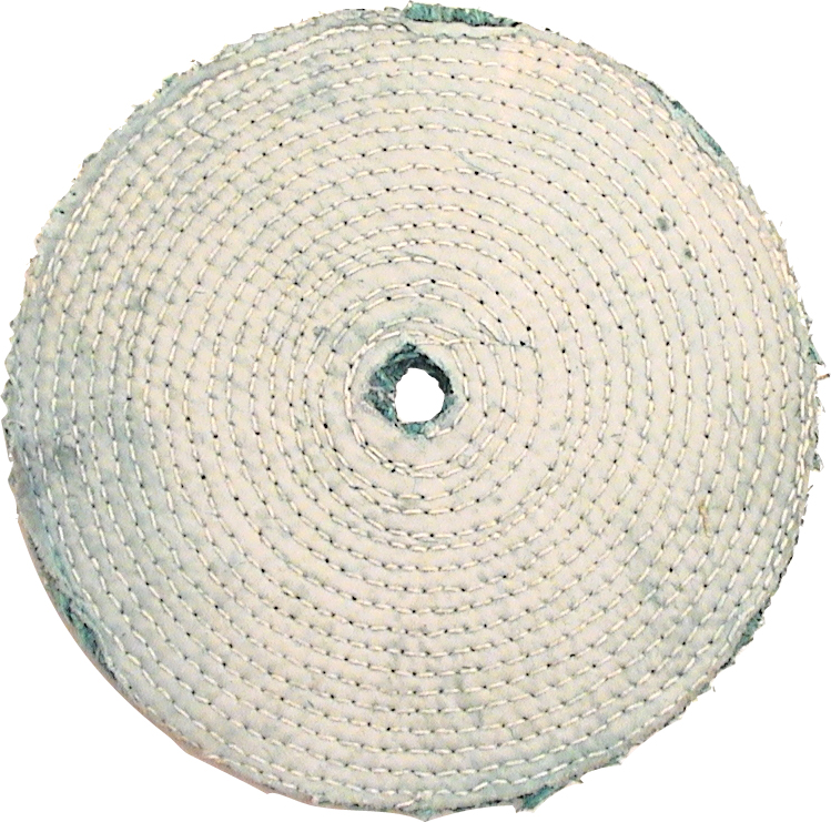 "8"" Sisal Buffing Wheel Green"