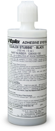 Equilox Stubbie 150 ML Cartridge Black