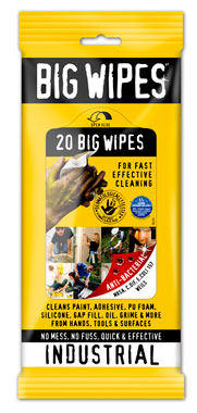 Big Wipes Hand Wipes 20 ct