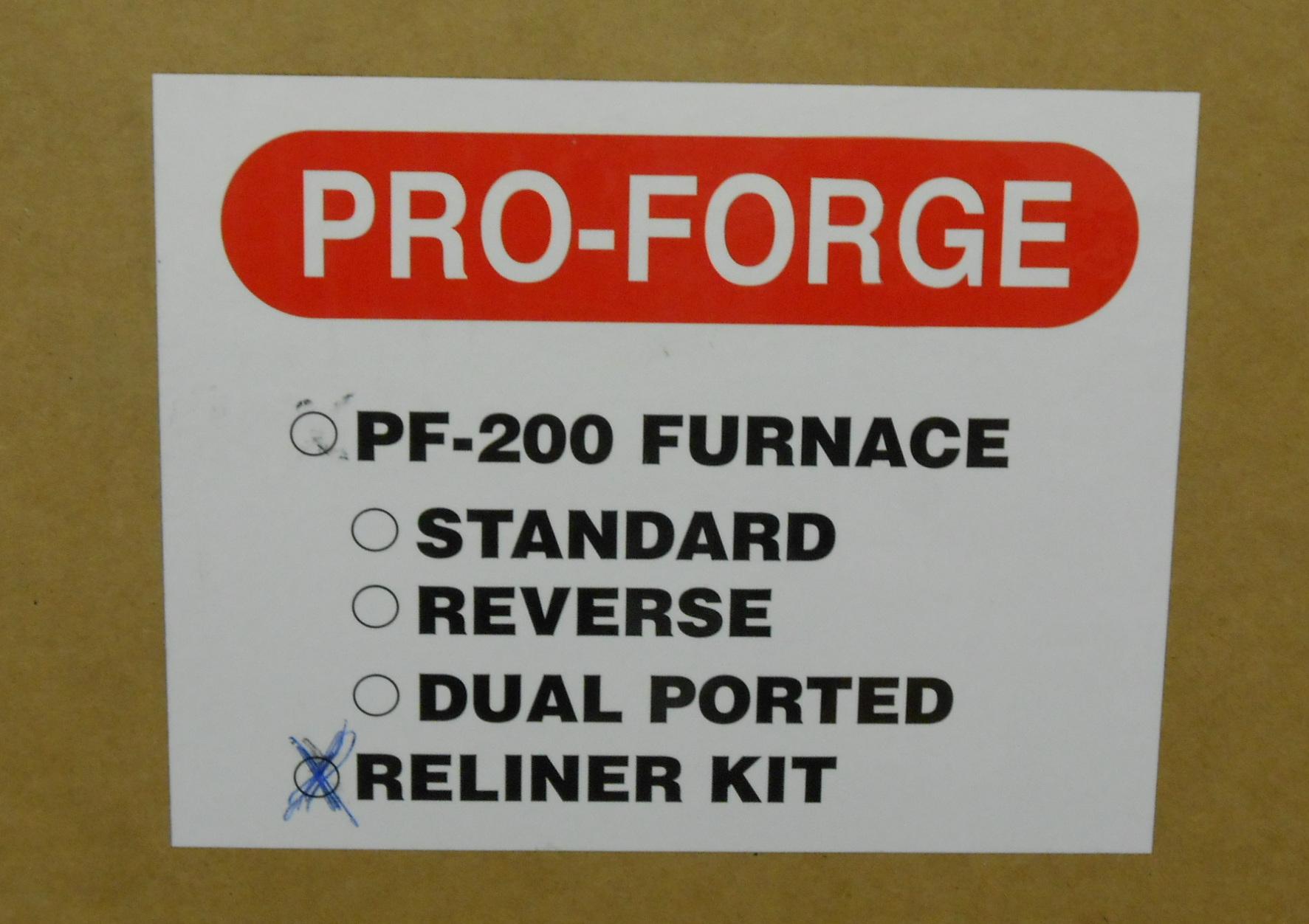 Pro-Forge Reliner Kit