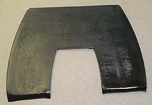 Farriers Pride 3 Deg. Bar Wedge Pad  -  pr