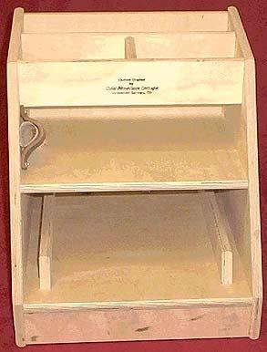 Standard Wood Tool Box
