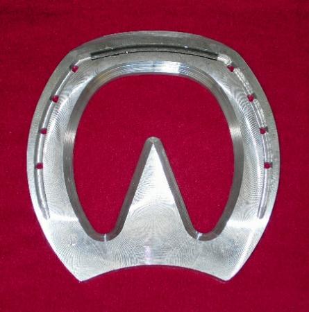 J.B. Aluminum Blunt Heart Bar 3 - pr