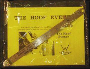 W Brand Hoof Evener